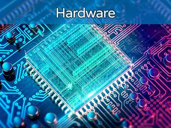 Illustration of a computer processor